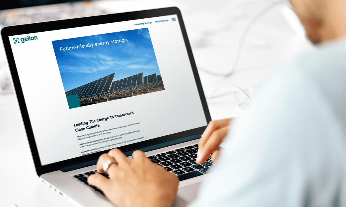 Sign up to Gelion Newsletters